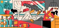 Culture Trip - sam peet illustration