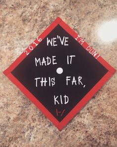 Twenty one pilots graduation cap!!!!! |-/