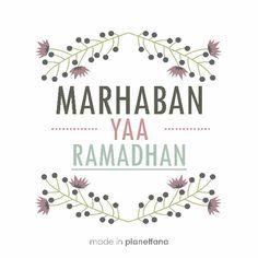 Marhaban ya ramadhan... Mohon maaf lahir dan batin...