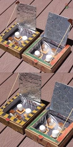 Try this easy DIY Solar Oven for kids this summer. Learn how to make a solar oven with these plans, perfect for summer fun or a science project. Start with a cardboard pizza box (or shoebox) and you a Kid Science, Science Projects For Kids, Summer Activities For Kids, Summer Kids, Summer Science, Stem Activities, Projects For School, Fun Ideas For Summer, Easy Diy Projects