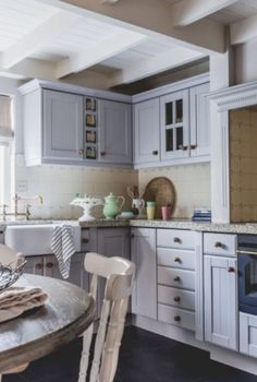 "This cosy family kitchen is from our feature ""Merry Matters"""