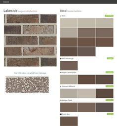 Aztec blend muskogee collection residential brick boral behr ralph lauren paint sherwin - Breathable exterior masonry paint collection ...