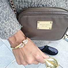 """Quirina-Felizitas, Fashion Blogger of #the18thdistrict shows her style with our """"Sleep to Dream"""" Bracelet <3 Her Style, Michael Kors Jet Set, Marc Jacobs, Sleep, Bracelet, My Love, Bags, Fashion, Handbags"""