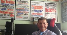 Mr Booth, 83, from Moreton, worked on the gig signs for the Fab Four and other Merseybeat gigs