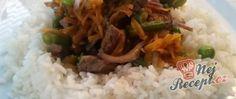 Recept Hovězí nudličky s rýží Grains, Food, Essen, Meals, Seeds, Yemek, Eten, Korn