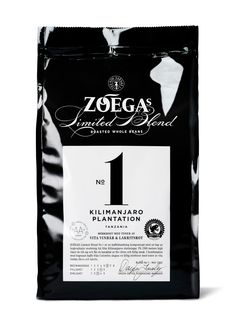 """Visual identity and packaging design for Zoégas limited edition series """"Limited Blend"""". Designed by DDB Design, Stockholm"""