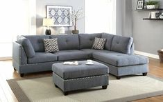 Sofas : Simmons Couch Big Lots Decorating With Black Furniture In The Living Room Bonded Leather Sectional Sofa. Sectionals: The Benefits of Sectional Sofas As Living Room Furniture Part Couch & Loveseat Set. Floral Sofas For Sale. Fabric Sofa With Wood Sectional Ottoman, Grey Sectional, Living Room Sectional, Chaise Sofa, Living Room Furniture, Living Room Decor, Fabric Sectional, Grey Furniture, Furniture Stores