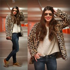 Love this coat!!  THE LEOPARD COAT  (by Chloë Sterk) http://lookbook.nu/look/4534579-THE-LEOPARD-COAT