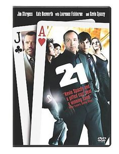 Kevin Spacey Jim Sturgess Kate Bosworth Laurence Fishburne in 21 DVD 2008 Movie