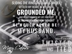Twisted and Tied (Marshals: Book Four) Mary Calmes - Book Teaser