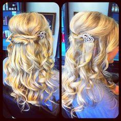 Bride hair?