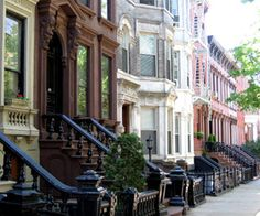 Brooklyn, New York and its brownstones