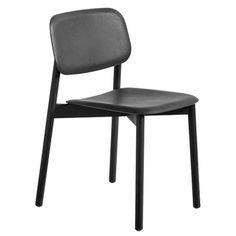 Soft Edge tuoli, musta