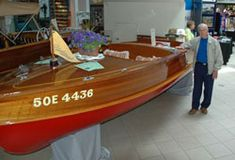 Trent Severn Antique & Classic Boat Association fosters an appreciation of historical vessels. Classic Wooden Boats, Classic Boat, Old Boats, Poker Table, Skiing, Antiques, Water, David, Ski
