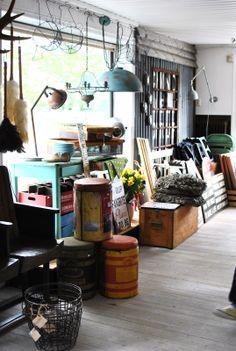 Vintage store display