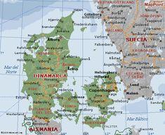 jutlandia mapa - de búsqueda