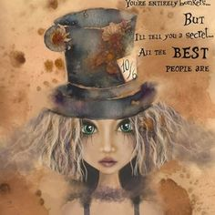 Quirky Art, Whimsical Art, Lewis Carroll, Alice And Wonderland Quotes, Limited Edition Prints, Watercolor Art, Art Drawings, Trippy Drawings, Fantasy Art