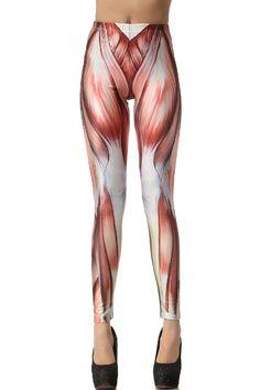 LoveLiness Muscle Print Leggings