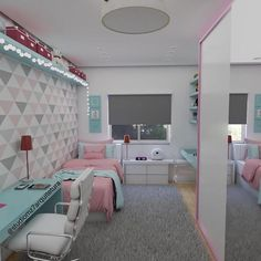 Bedroom Design And Decoration Tips And Ideas - Top Style Decor Bedroom Decor For Teen Girls, Room Ideas Bedroom, Girl Bedroom Designs, Teen Room Decor, Small Room Bedroom, Home Decor Bedroom, Cute Room Decor, Home Room Design, Aesthetic Room Decor