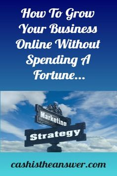 Looking to start a business from home, but don't want to spend a lot of money? You need an online business! So then, how do you use online marketing without spending a ton of money? In this article well answer this question with proven tips and tricks to generate sales online and how to avoid some of the biggest mistakes. #internet marketing #online marketing #how to grow your business online Best Online Business Ideas, Start A Business From Home, Growing Your Business, Starting A Business, Business Planning, Internet Marketing, Online Marketing, Advertising Strategies, Share Online
