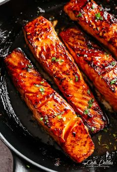 salmon Archives - Cafe Delites Fish Dishes, Seafood Dishes, Seafood Recipes, Cooking Recipes, Healthy Recipes, Dinner Recipes, Best Fish Recipes, Seafood Platter, Recipes With Fish