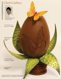 Chocolate Showpiece created by Pastry Chef Nathaniel Reid.