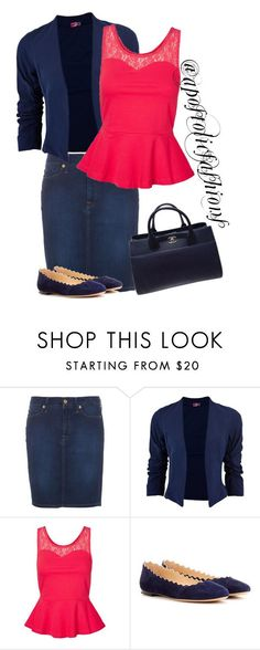 """Apostolic Fashions #1269"" by apostolicfashions on Polyvore featuring 7 For All Mankind, Vero Moda, Chloé and Chanel"