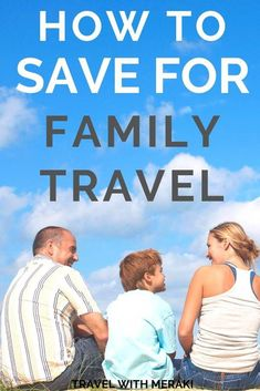 Find out how to save money for travel, for REAL people. Getting travel savings can be hard work, get these realistic money saving tips and save money fast. Best Family Vacations, Family Vacation Destinations, Family Road Trips, Family Travel, Travel Destinations, Vacation Ideas, Vacation List, Travel Fund, Travel Money