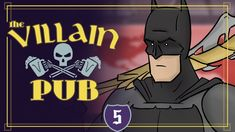 Batman Invades the Villain Pub Lair and Engages in a Heated Boss Battle With Movie Bad Guys