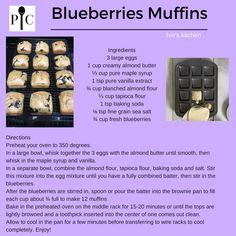 Blueberries muffins, Paleo, gluten free on the Pampered Chef brownie Pan. Pampered Chef Desserts, Pampered Chef Party, Blueberries Muffins, Blue Berry Muffins, Muffin Pan Recipes, Dorm Hacks, Bite Size Food, Brownie Pan, Best Dishes