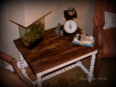 Remodelaholic » Blog Archive French Twist- Giving a Table a Vintage French Look! » Remodelaholic