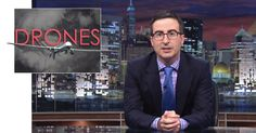 John Oliver Coins a New Slogan for Drones. Oliver and his team of writers try to find some concrete answers to questions about how and when the government decides to use a drone strike.