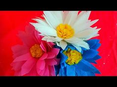 How to make aster flower 🌹 with waste shopping bag 💜 very easy 😊 Beaded Flowers, Diy Flowers, How To Make Rose, Aster Flower, Do Anything, Youtube, Crafts, Painting, Plastic
