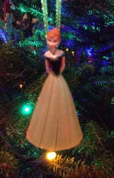 Disney Frozen Anna Holiday Christmas Ornament 3 Inch NEW #BeverlyHillsTeddyBearCompanyDIY