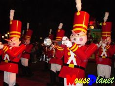The Nutcrackers!! I have these guys as a vinylmation too