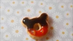 Micky mouse donut-polymer clay tutorial