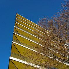 #London Détail d'un immeuble aux abords de la City