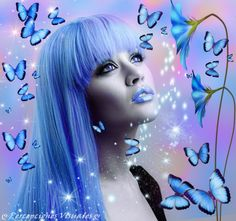 ✿ COLORES   ❀★ღ˚ •Pєrcєρciønєs Visuαłєs★ღ˚ •❀ Magic Wings, Disney Characters, Fictional Characters, Disney Princess, Art, Blog, Entrance Halls, Colors, Butterflies