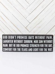 Promises                                                                                                                   ...