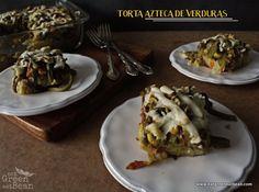 TORTA AZTECA DE VERDURAS