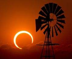 From Lubbock, Texas, the Annular Solar Eclipse.