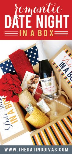 Night Basket or Box - From Romantic Date Night ideas for me and my spouse! These ideas are so simple! Romantic Date Night ideas for me and my spouse! These ideas are so simple! Date Night Gift Baskets, Date Night Gifts, Romantic Date Night Ideas, Romantic Dates, Romantic Gifts, Homemade Gifts, Diy Gifts, Homemade Art, Surprise Date