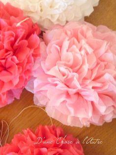 P1300554 Girl Decor, Baby Decor, Etiquette, Paper Flowers, Bouquet, Wedding Photography, Diy, Birthday, Table