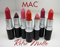 MAC Retro Matte Lipstick - swatches and review - we heart this