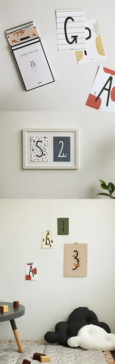 The cutest alphabet-themed postcards to decorate, hang up, or send via good old snail mail! ^.~*