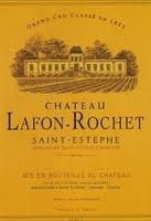 2009 Chateau Lafon-Rochet, Saint-Estephe, France 91pt., 47 pounds