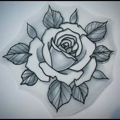 Check out this listing I just found on Poshmark: Meet your Posher, Cheyanne. #shopmycloset #poshmark #shopping #style #pinitforlater #Meet the Posher #Other Rose Drawing Tattoo, Tatoo Art, Tattoo Sketches, Tattoo Drawings, Flower Drawings, Art Drawings, Tattoos Skull, Body Art Tattoos, Sleeve Tattoos