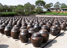 Land of kimchi pots! These are used to ferment kimchi, as well as other foods and sauces.