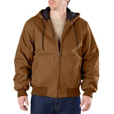 415210404 Men s Dickies Sanded Hooded Jacket  Dickies