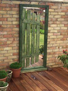 Mirror used in garden